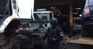 Ação combate quadrilha suspeita de roubar 20 caminhões por mês no RS
