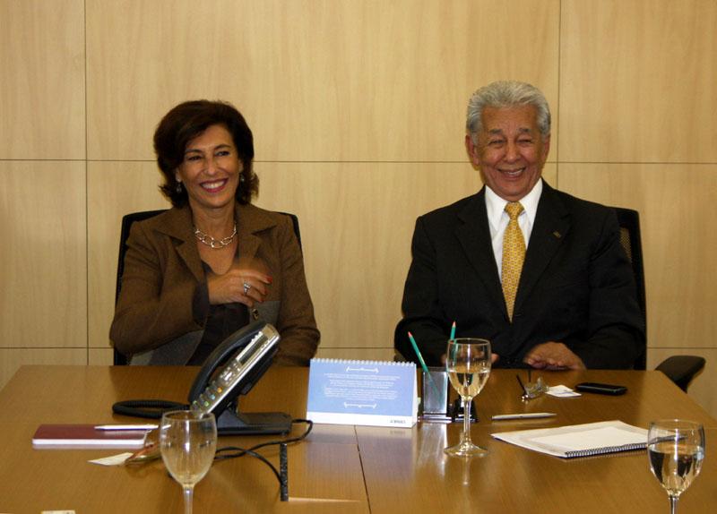 Presidente Maria Silvia, do BNDES com China, da UNICAM (Fotos: Divulgação)