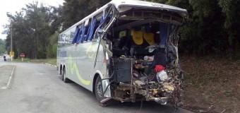 Cresce letalidade de acidentes com ônibus em estradas e vias urbanas