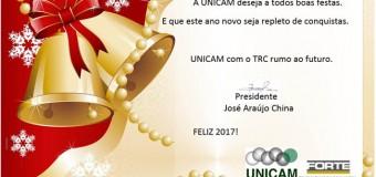 A UNICAM deseja a todos Boas Festas!