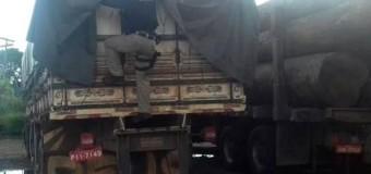 No PA, PRF flagra transporte ilegal de carga de madeira avaliada em R$ 9 mil