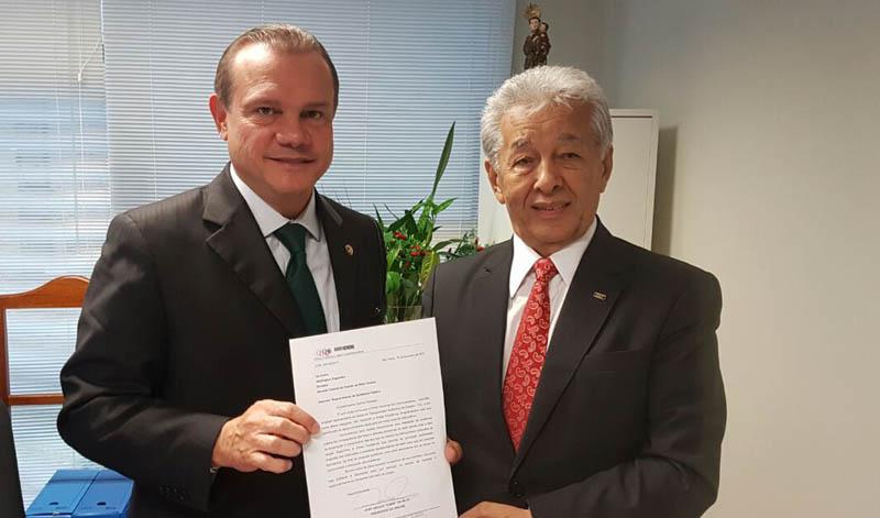 China e Senador Wellington Fagundes, ideia é reunir entidades do setor em Audiência Pública (Foto: Divulgação Unicam)