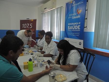 As ações gratuitas acontecem das 11h às 21h, no Posto Arco Íris, localizado no km 81,9 da pista sentido Rio de Janeiro da via Dutra. (Foto: Camila Santos/CCR NovaDutra)
