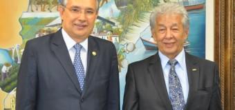 UNICAM tem reunião com Senador Federal Eduardo Amorim