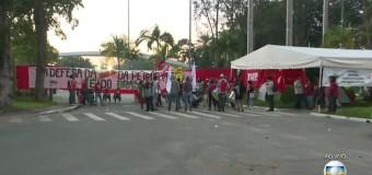 Protestos causam retenção em vários pontos e Rio entra em estágio de atenção
