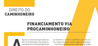 China escreve sobre Financiamento na Revista Caminhoneiro, confira!