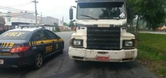 PRF liberta caminhoneiros sequestrados
