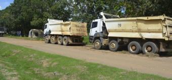 Caminhões furtados de construtora em Ariquemes, RO, são encontrados na BR-364