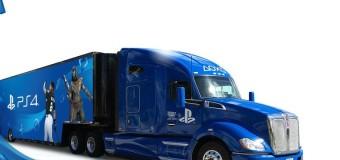 Caminhão levará estações de teste do PS4 pelo Brasil