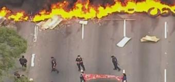 MTST bloqueia rodovias e avenidas em SP contra o impeachment