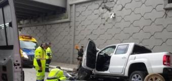 Seis pessoas morrem em quatro acidentes em rodovias federais catarinenses no sábado