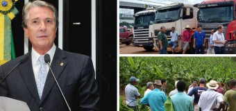 SENADO APROVA MP QUE BENEFICIA PRODUTORES RURAIS E CAMINHONEIROS