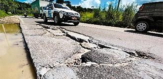 Estado tem 500km de rodovias em péssimo estado