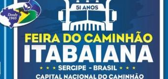 Vem aí a Festa do Caminhão em Itabaiana, a Capital Nacional do Caminhão