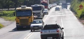 Mortes caem nas rodovias federais, mas colisões frontais ainda preocupam