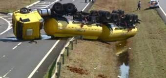 Acidentes com veículos pesados preocupam nas estradas da região de SP