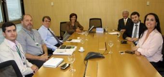 UNICAM  é recebida pela presidência do BNDES em sua sede no Rio