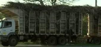 Bitrens são flagrados sem proteção de carga em rodovias da região