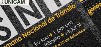 Semana Nacional do trânsito alerta sobre riscos ao volante