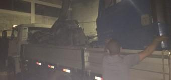 Suspeitos de desmanche de caminhões são presos em MG