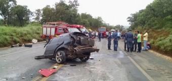 Acidentes em rodovias mineiras causaram sete mortes neste domingo