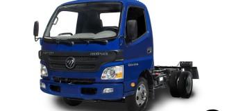 Foton começa comercialização de caminhões leves com 65% de nacionalização