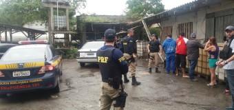 PRF e Polícia Civil estouram posto clandestino em Paranaguá