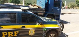 Caminhões roubados em MG e SP são recuperados na BR-242