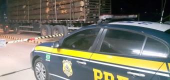 PRF flagra caminhão com quase 10 toneladas de excesso de carga