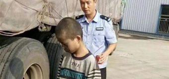 Menino chinês de 9 anos se esconde em caminhão e viaja mil quilômetros para fugir de casa