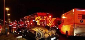 Três acidentes com 11 feridos nas vias do DF mobilizaram bombeiros