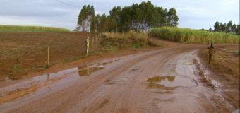 Motoristas reclamam de desvio precário após interdição de rodovia em Monte Azul Paulista,SP