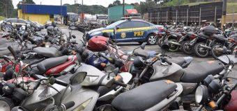 Alagoas: PRF leva a leilão nesta sexta 70 lotes com 350 veículos