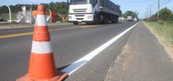 Rodovias do Sul recebem melhorias na sinalização