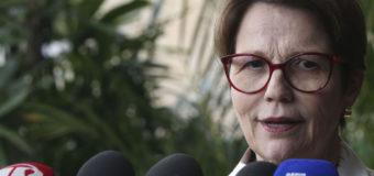 Tereza Cristina cobra 'bom senso' do  STF em julgamento de tabela do frete