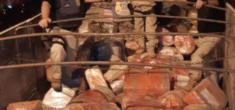 Em maior apreensão do ano, PRF descobre mais de 7 toneladas de maconha em carga de milho em Ponta Porã/MS