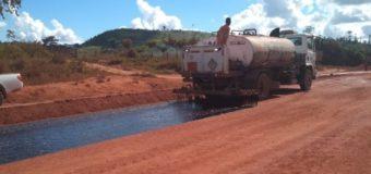 Obras de pavimentação da BR-163/PA estão a todo vapor