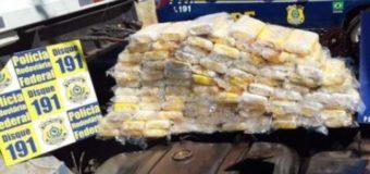Em 6 meses, PRF apreendeu 305 kg de cocaína na fronteira com a Bolívia