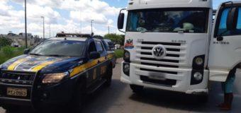 PRF recupera na BR 135 veículo com indícios de adulteração