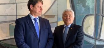Elmano Férrer tem encontro com Bolsonaro e ministro da Infraestrutura em Brasília