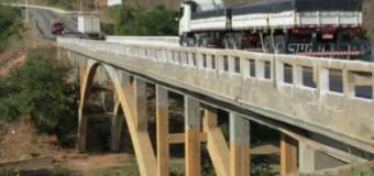 VIABAHIA inicia HOJE (31/07) nova fase de reparos em ponte sobre o rio Pardo, em Cândido Sales