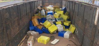 Em Ponta Porã, PRF apreende 4,4 toneladas de maconha