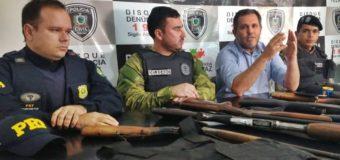 """Operação conjunta desarticula quadrilha do """"novo cangaço"""" responsável por assaltos a bancos e explosões de carros forte"""