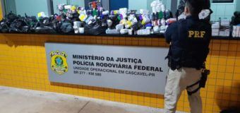 PRF apreende anabolizantes e medicamentos no oeste paranaense