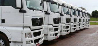 Emplacamentos de caminhões sobem 19,9% em outubro