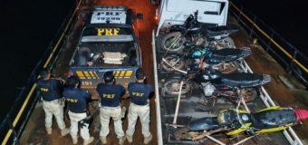 Em operação conjunta, a PRF apreende 70 veículos na região do Vale do Jari