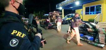 PRF apreende quase uma tonelada e meia de maconha e prende traficante em Lajeado